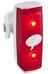 Knog POP r Rücklicht rote LED white